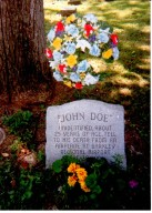 Oak Grove Cemetery, John Doe