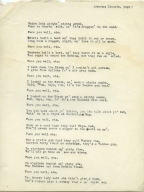 Abraham Lincoln's Song (A Spite Song), pg. 2
