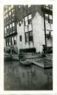 Irvin Cobb Hotel in downtown Paducah during '37 flood.