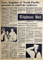 Tilghman Bell - April 21, 1972