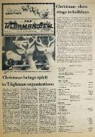 Tilghman Bell - December 7, 1973