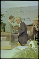 Four Rivers Center Groundbreaking, Gov. Paul Patton
