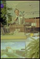 Four Rivers Center Groundbreaking, Mayor Bill Paxton