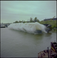 Paducah Marine Ways Barge Launching
