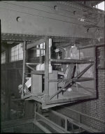 Photograph of an elevated chair in Unknown Factory