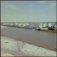 Towboats in the Snow