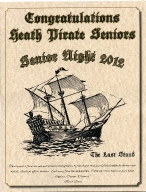 Program for Heath High School Senior Night 2012