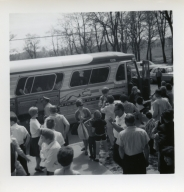 Heath High School band heads for Cherry Blossom Festival in Washington D.C. in April 1967