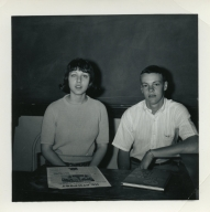 Newspaper editor and yearbook editor at Heath High School in 1967-68