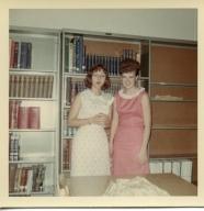 Student librarians at Heath High School