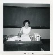 English teacher Charlotte Meadows