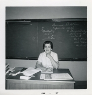 Math teacher Hazel Holland