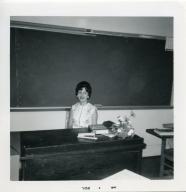 Social studies teacher Millie Murphy