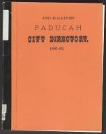 Jonathan B. Gaines' Paducah City Directory, 1881-1882