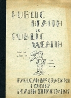 Public Health is Public Welfare