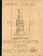 1959 Paducah-McCracken County Health Department Annual Report