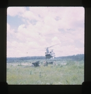 Low helicopter