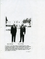 W.G. Harvey and W.C. Young in Washington D.C.