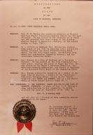 Rev. W.G. Harvey Week Proclamation