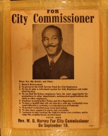 W.G. Harvey Runs for Paducah City Comission
