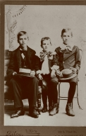 Clarence (1882-1950), Herman (1892-1944) and Ray (1885-1991) Bell