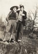 Edna Grimes and Juanita Miles