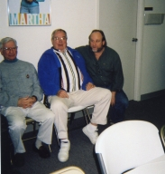 Engineers Jim Franklin, Jerry Quigley and Joey Gill
