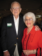 "Bill and Doni Watson at ""Old Timer's luncheon"""