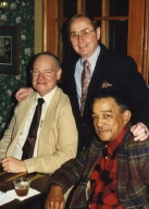 Don Alvey, Bob Swisher and Joe Scott at Bob's retirement