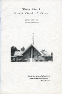 Unity Church of Christ Centennial Celebration Program
