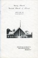Unity Church of Christ Centennial Celebration Program