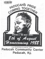 8th of August Emancipation Celebration 1988 Program