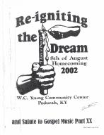 8th of August Emancipation Celebration 2002 Program