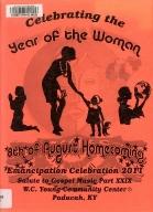 8th of August Emancipation Celebration 2011 Program