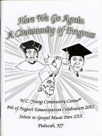 8th of August Emancipation Celebration 2012 Program