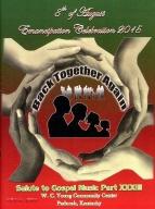 8th of August Emancipation Celebration 2015 Program