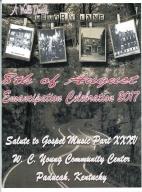 8th of August Emancipation Celebration 2017 Program