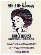 8th of August Emancipation Celebration 2018 Program