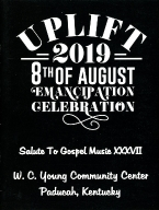 8th of August Emancipation Celebration 2019 Program