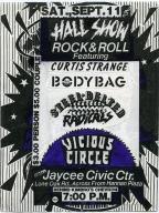 September 11th Jaycee Civic Center Show Flyer