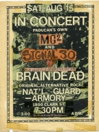 August 15th National Guard Armory Show Flyer