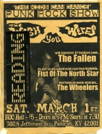 March 7th, 2007 KC Hall Show Flyer