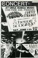 June 11th Unga Bunga Music Show Flyer