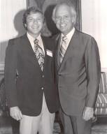 Tom Sutherland and Governor Julian Carrol