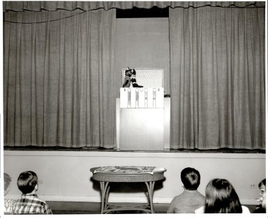 Harriett Boswell Puppet Stage