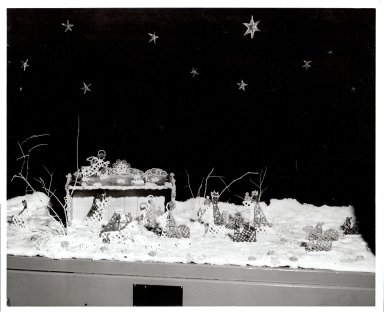 Harriett Boswell Christmas Scene
