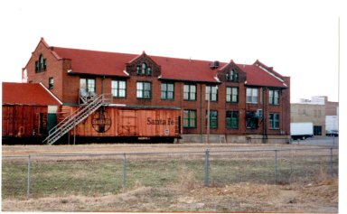 N.C. and St. L. RR Freight House