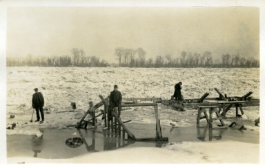 Frozen at the Paducah Marine Ways