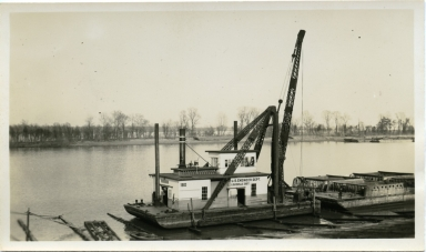 U.S. Engineer Department, Louisville District, Dredge #180