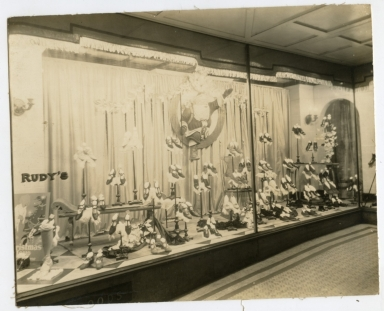 Rudy's Department Store, Window Display